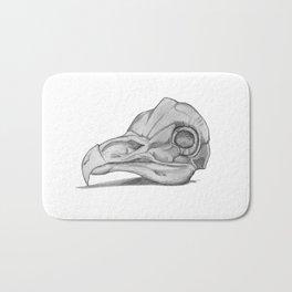 Barn Owl Skull Bath Mat