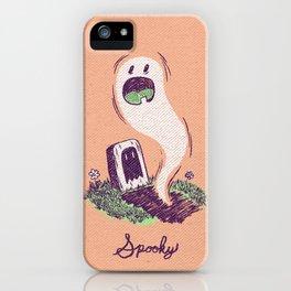 Spooky Ghostie iPhone Case