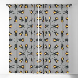 Amber Beetle Blackout Curtain