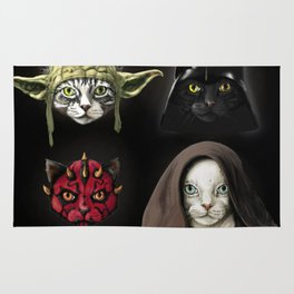 Cat wars 4 Two Rug