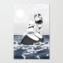 mujer! Canvas Print