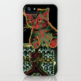 Tribe Cat iPhone Case
