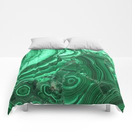 Green Agate Surface Comforters