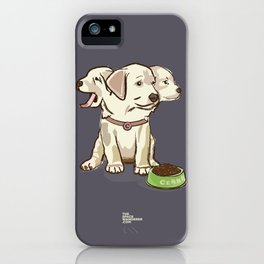 Cerberus Puppy iPhone Case