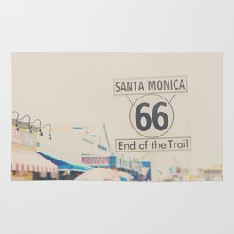 the end of route 66 ... Rug