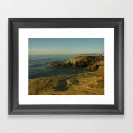 Coastal Scene  Framed Art Print
