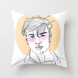 Grayson dolan Throw Pillow