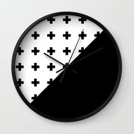 Memphis pattern 76 Wall Clock