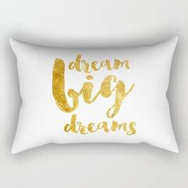 dream big dreams Rectangular Pillow