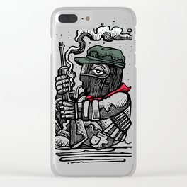 Sub Marcos Clear iPhone Case