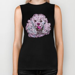 The happy Poodle Love of My Life Biker Tank