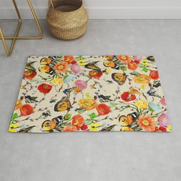 Butterfly Bouquet  Rug
