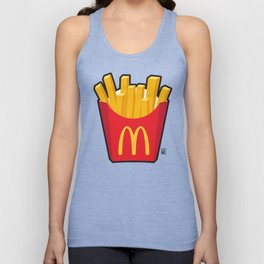 Fries? Unisex Tank Top