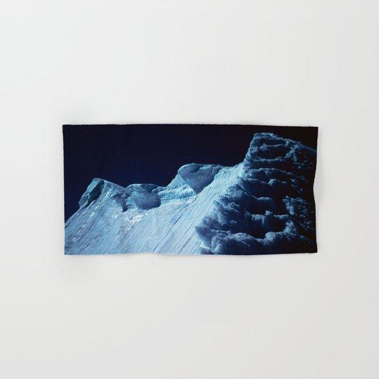 NATURE'S WONDER #2 - Glacier in the dark #art #society6 Hand & Bath Towel