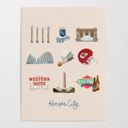 Kansas City, Missouri Poster