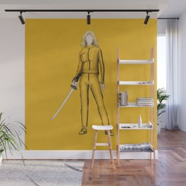 The Bride without a face (Kill Bill) Wall Mural