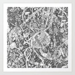 MMav Pillow 2. Art Print