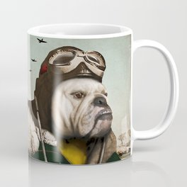 "Wing Commander, Benton ""Bulldog"" Bailey of the RAF Coffee Mug"