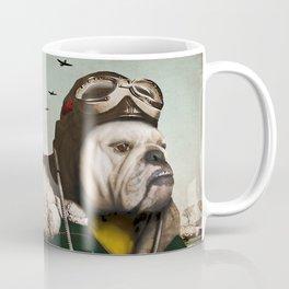 "Wing Commander, Benton ""Bulldog"" Bailey of the RAF Coffee Mug"