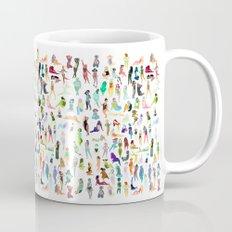100 tiny ladies Mug