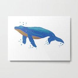 Spot A Whale Metal Print