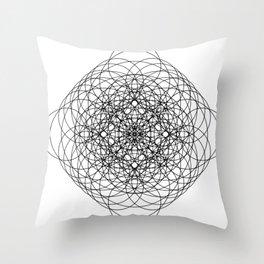 Circle Splendor 11 Throw Pillow