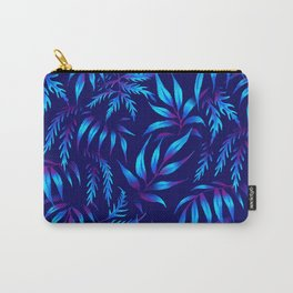 Brooklyn Forest - Blue Carry-All Pouch