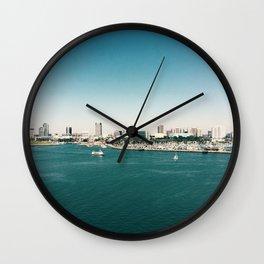 Dowtown Long Beach Wall Clock