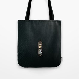 Iceland Ship from Above - Ocean Photography Tote Bag