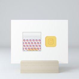 IG User Mini Art Print