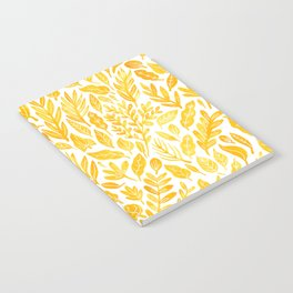 Dandelion Yellow Notebook