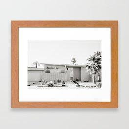 Palm Springs III Framed Art Print
