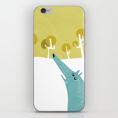 Wolf - Red ridding hood series iPhone & iPod Skin