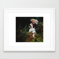 run Framed Art Prints featuring RUN. by deepinswim