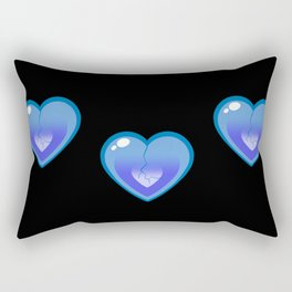 Lewis Heart Broken Rectangular Pillow