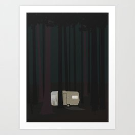 CAMPINGVOGN Art Print