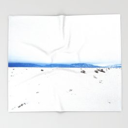 Vaya Con Dios Taos New Mexico Throw Blanket