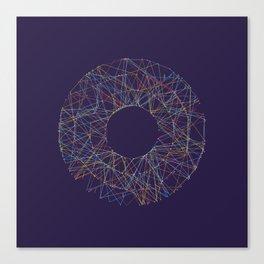 Generative Splines 2 Canvas Print