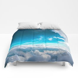 Clouds In The Sky Comforters