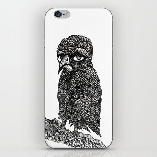 Morbid bird iPhone & iPod Skin
