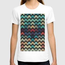 Colorful Chevron Pattern T-shirt
