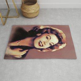 Jayne Meadows, Classic Actress Rug