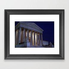 Supreme court Framed Art Print