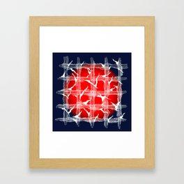 Suppress Framed Art Print