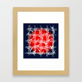 Suppress Framed Art Print