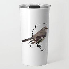 Mississippi – Northern Mockingbird Travel Mug