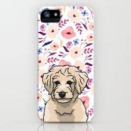 Floral Dood iPhone Case
