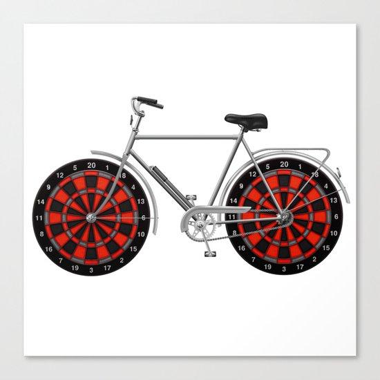 Pikado bike Canvas Print