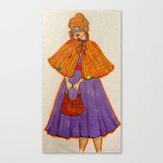Molly. Canvas Print