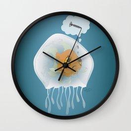 Jellyfishfish - Screwed! Wall Clock